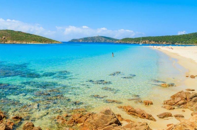 Sardenha praias: a azul Tuerredda.