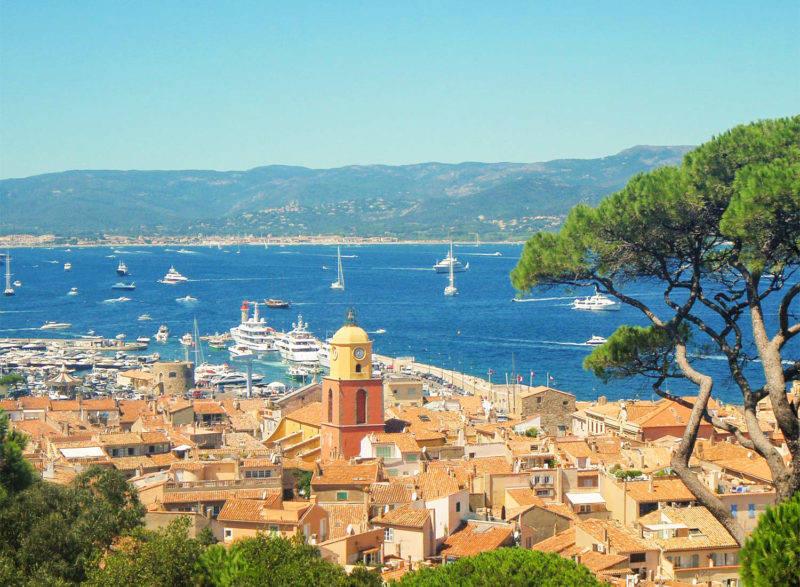 O que fazer em Saint Tropez: a espetacular esta da cidade.