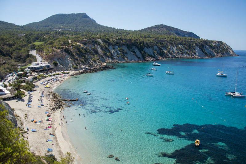 Praias de Ibiza: Cala D'Hort.
