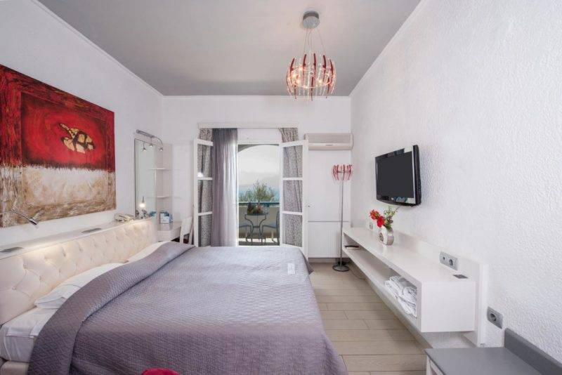 Hotéis em Amorgos: Quarto do Aegialis Hotel & Spa.