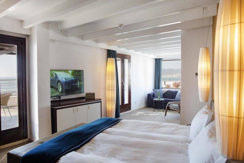 Onde ficar em Maiorca: Quarto do Portixol Hotel & Restaurant.