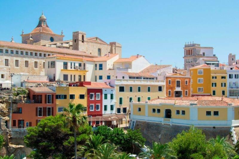 O que fazer em Menorca: centro histórico de Maó.