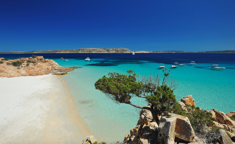 Praias mais lindas de Maddalena: a Cala Soraya, em Spargi