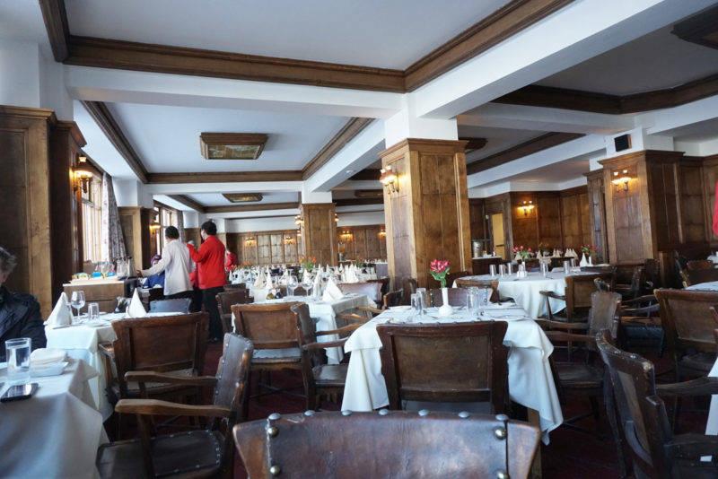 Melhores estações de ski no chile: o restaurante com serviço à la carte para quem se hospeda nos chalés