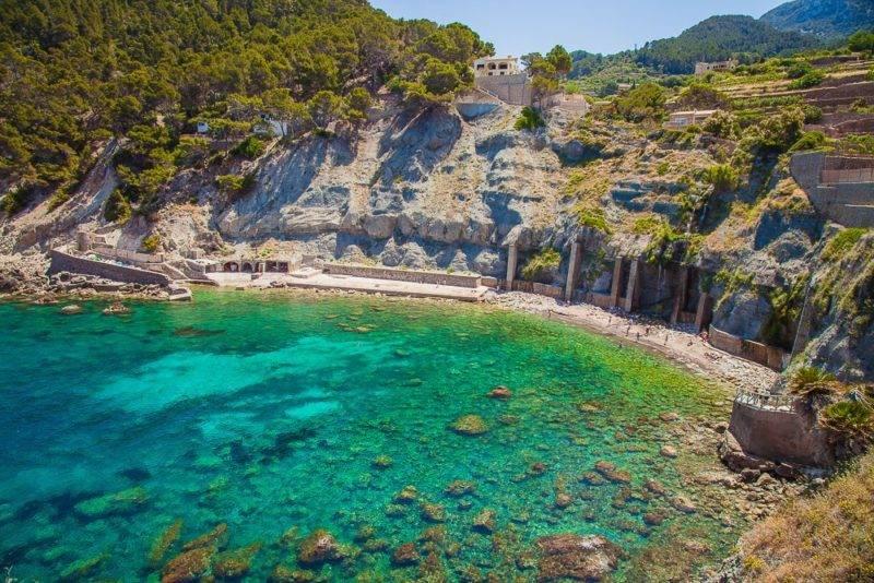 O que fazer em Mallorca: Cala Banyalbufar.
