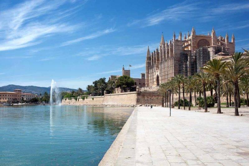 O que fazer em Mallorca: Palacio Real de la Almudaina.
