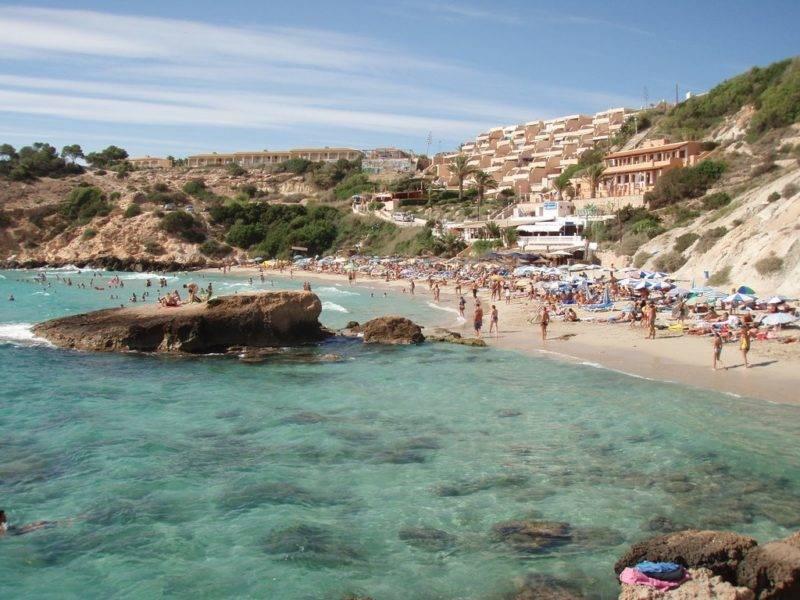 O que fazer em Ibiza: Cala Tarida.