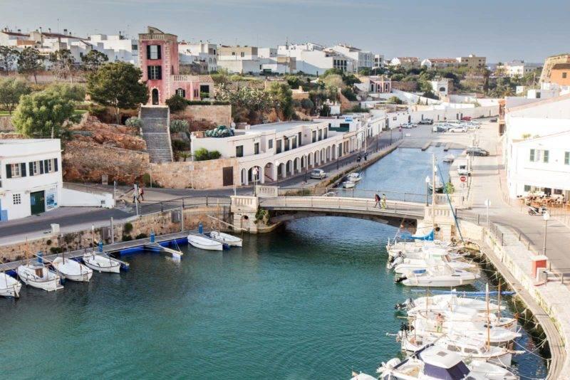 Viagem Menorca: linda Ciutadella no oeste da ilha.