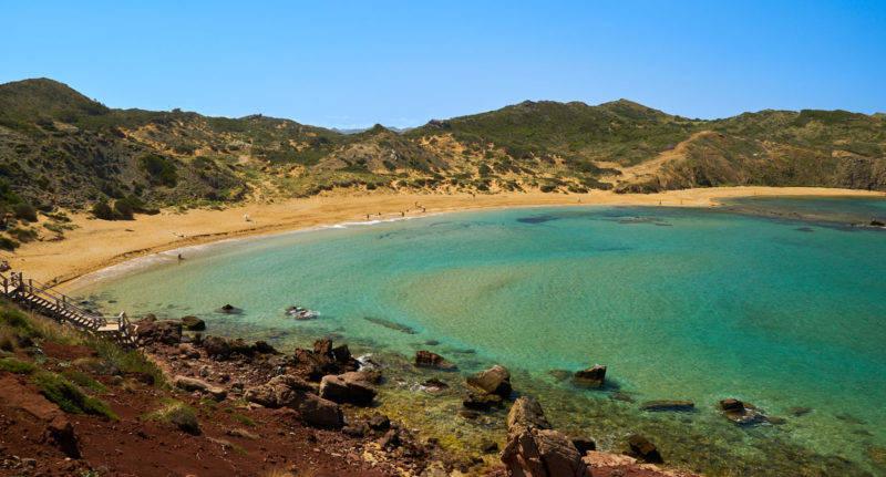 Baleares dicas: Platja de Cavalleria é uma das praias mais reservadas de Menorca.