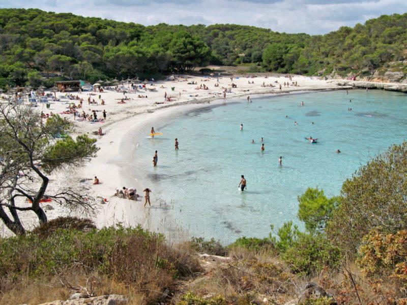 Mallorca praias: S'Amarador é a praia ideal para ir em família.