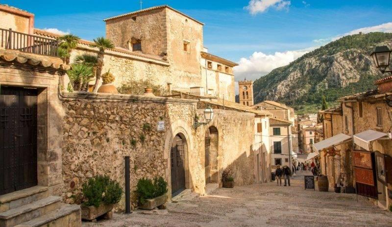 Mallorca dicas: ruelas de Pollença.