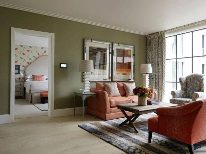 Onde se hospedar em Londres: A ampla acomodação do Ham Yard Hotel.