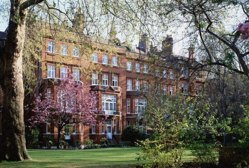 Arquitetura do Draycott Hotel, em Londres.
