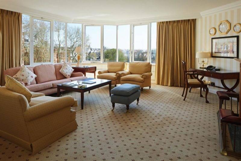 O Cheval Thorney Court at Hyde Park, em South Kensington, tem acomodações para famílias.