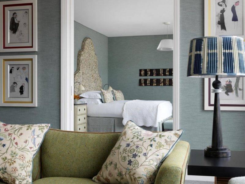 Hotéis em Londres: O The Soho Hotel tem opções para famílias grandes.