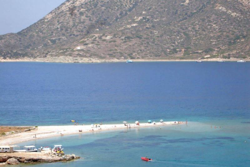 Dicas Amorgos: calma Agios Plavos.
