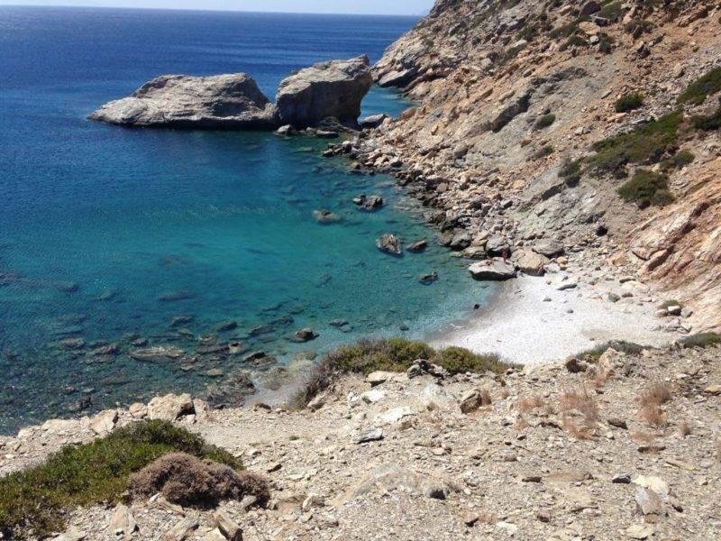 Ammoudi Beach, em Amorgos.