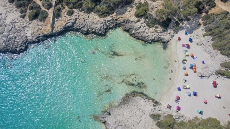 Praias mais lindas de Menorca: Es Talaier, no sulPraias mais lindas de Menorca: Es Talaier, no sul