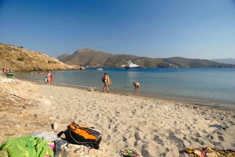 Guia completo de Amorgos: Maltezi Beach.