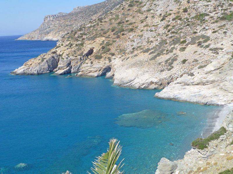 Mouros Beach: mais uma praia linda em Amorgos.