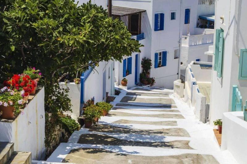 roteiro ilhas gregas: as ruas da Chora de Astypalea