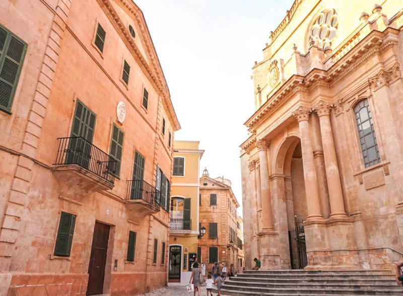 A catedral de Menorca, na charmosa Ciutadella. Nos apaixonamos pelo vilarejo.