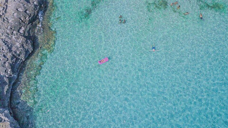 O mar de Menorca nunca cansa!