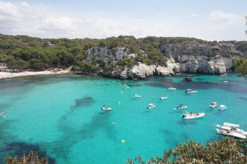 Praias mais lindas de Menorca: Macarella