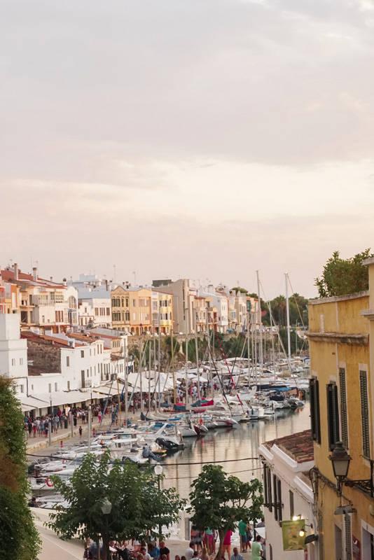 E a vista do porto no cair da tarde. Meu lugar no mundo, porque além do visual, tem todo climinha da cidade