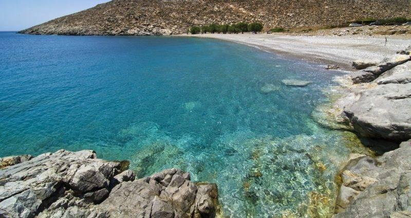 Praias de Astypalea: Kaminakia beach.