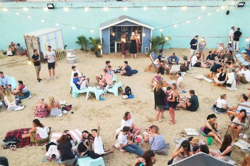Londres no verão: o Neverland Beach Club