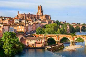 A cidade de Toulouse, umas das mais lindas no caminho do Midi