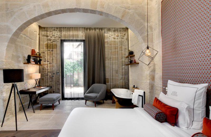 Onde ficar em Aigues-Mortes: Hotel Boutique Hôtel des Remparts & Spa.