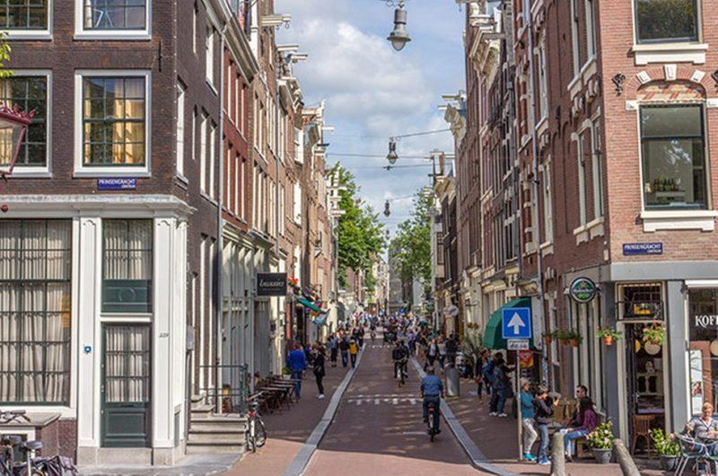 Europa dicas: as charmosas 9 Streets em Amsterdã.