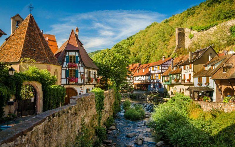 Dicas de viagens em outubro: As vilas germânicas da Alsácia.