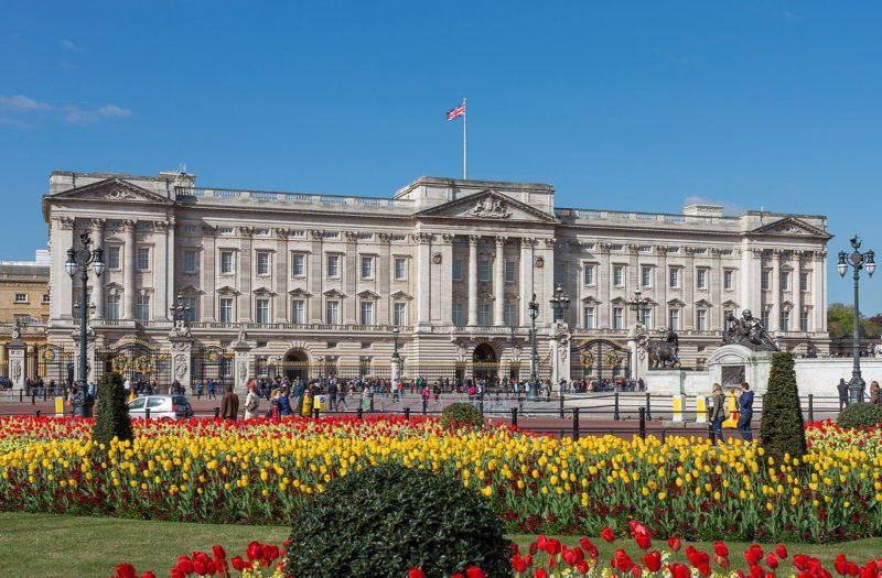 Palácio de Buckingham, residência da Rainha do Reino Unido.