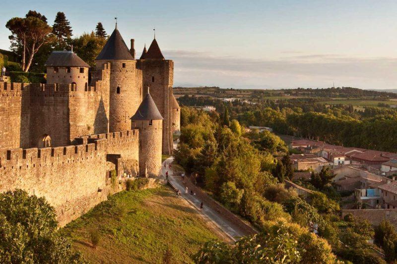 Cidades Medievais na França: Carcassonne.