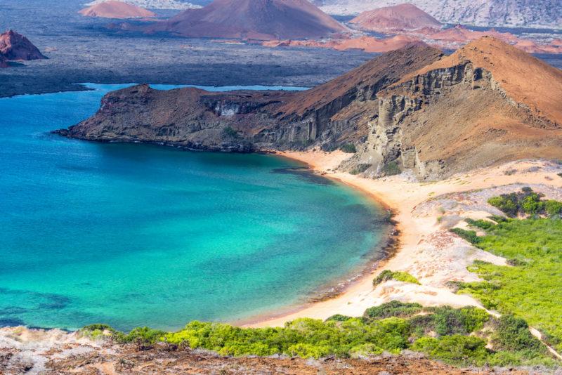 Destinos internacionais para ir em Outubro: a beleza selvagem de Galápagos.