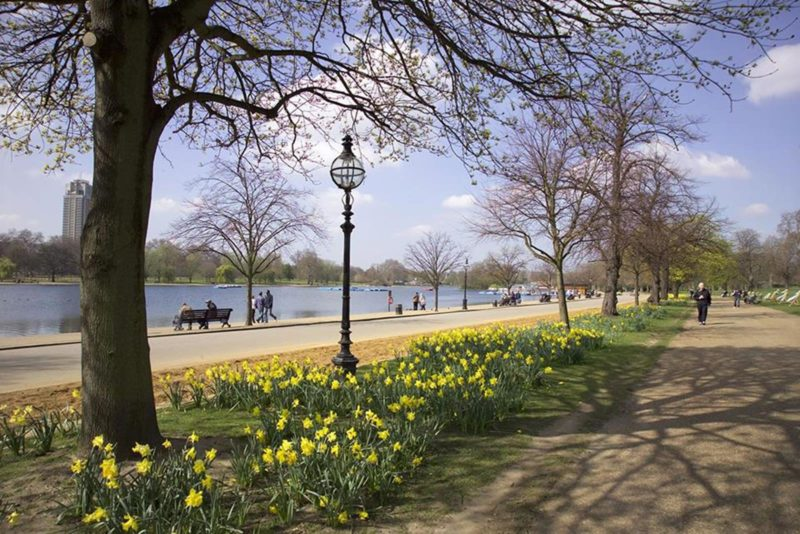 Dicas Londres: Relaxar no charmoso Hyde Park.