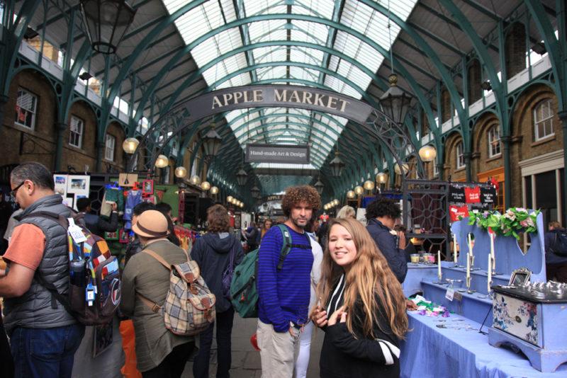 Roteiro Europa: charmoso mercado em Covent Garden.