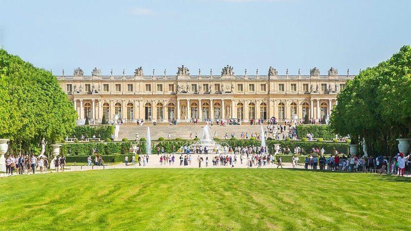 O que fazer em Paris: O imenso Palácio de Versailles.