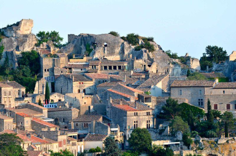 Legado medieval de Les Baux-de-Provence, na França.