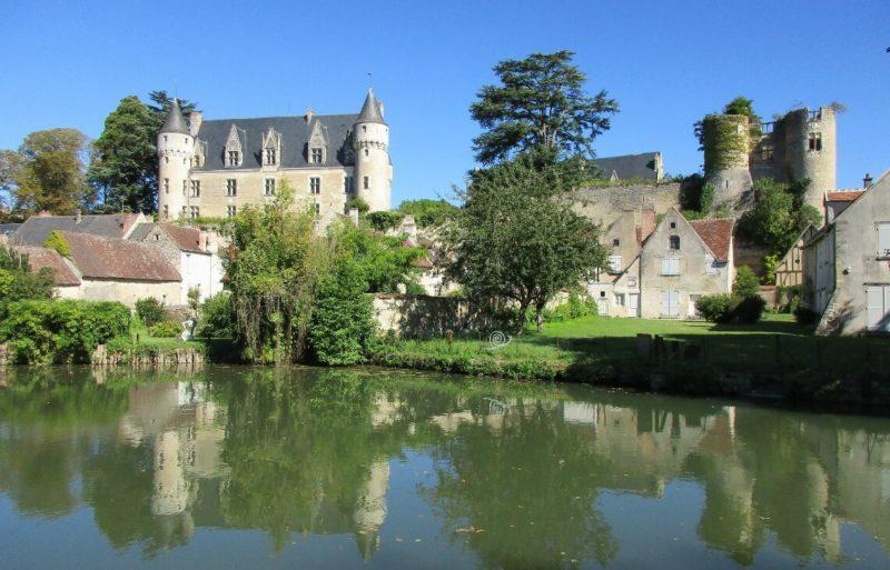 Belezas medievais de Montrésor, na França.