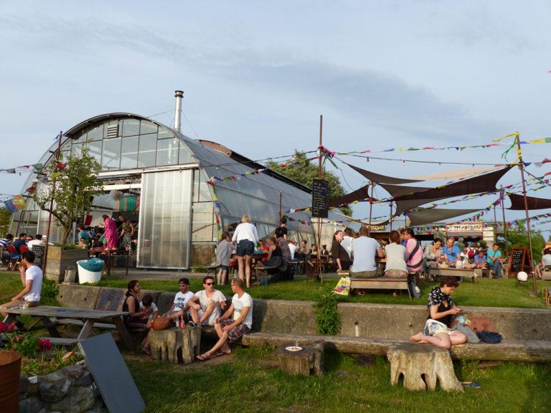 Dicas Europa: Cenário hipster no norte de Amsterdã.