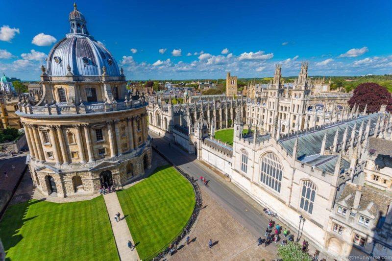 Dicas da Inglaterra: Universidade de Oxford.