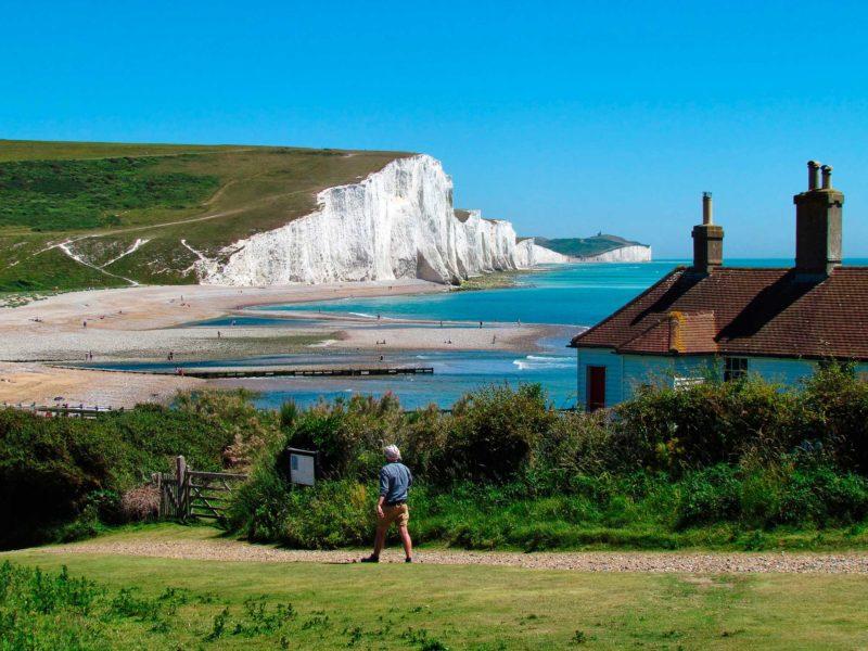 O que fazer em Brighton: Cenário espetacular das Seven Sisters.
