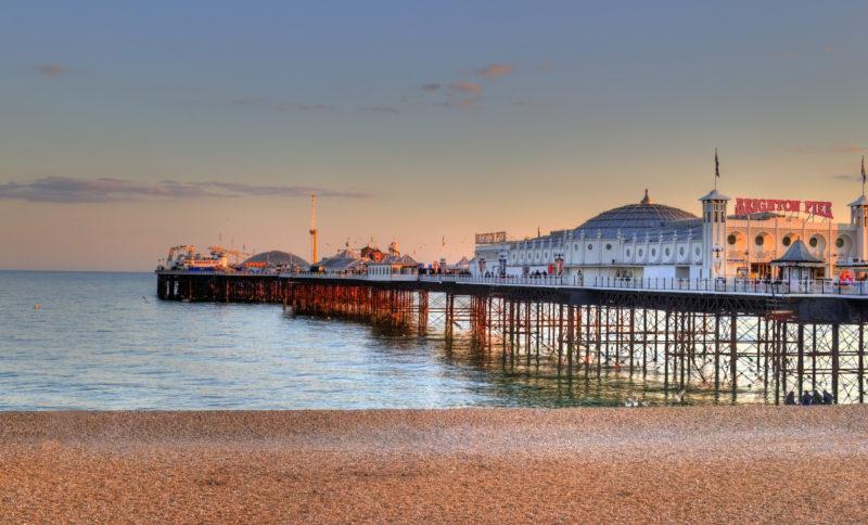 Dicas de Brighton: Pier agitado da cidade.