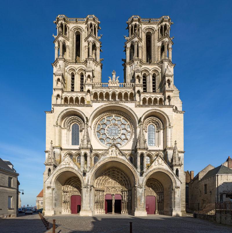 Catedral de Laon, na França.