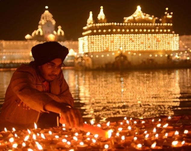 O Festival das Luzes Diwali, na Índia, marca o mês de outubro