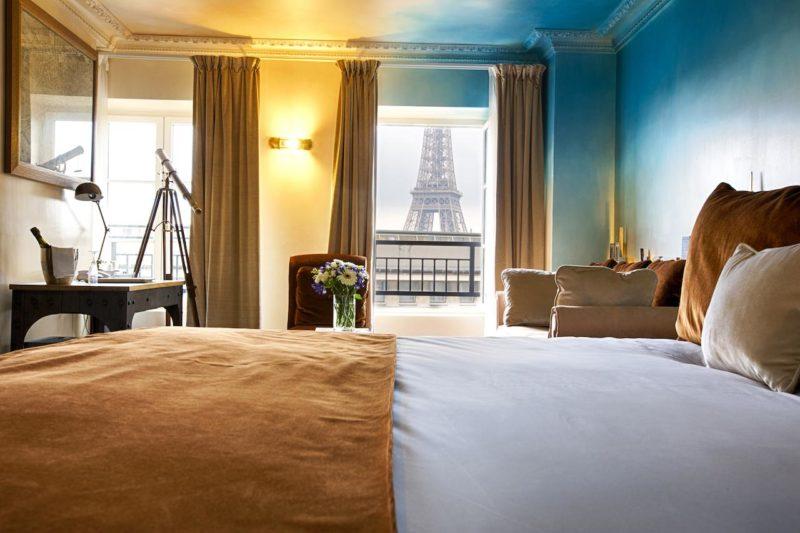 Onde ficar em Paris: Vista do HotelEiffel Trocadéro.